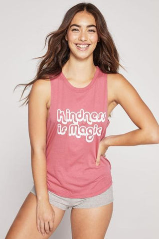 Good Vibes All Day Active Muscle Tank