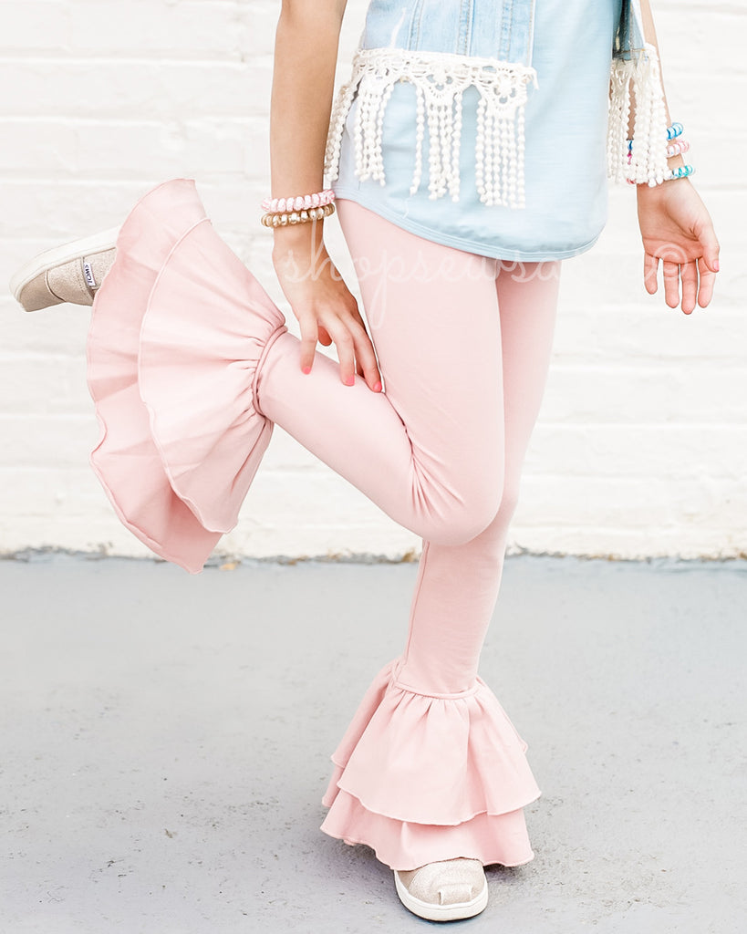 Pastel Pink Milly Leggings