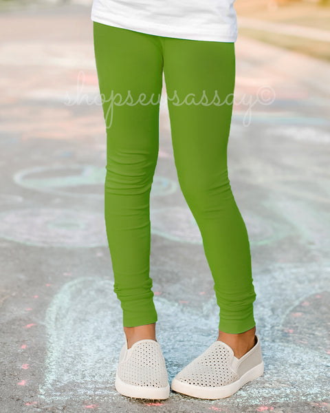 Seaweed True Leggings
