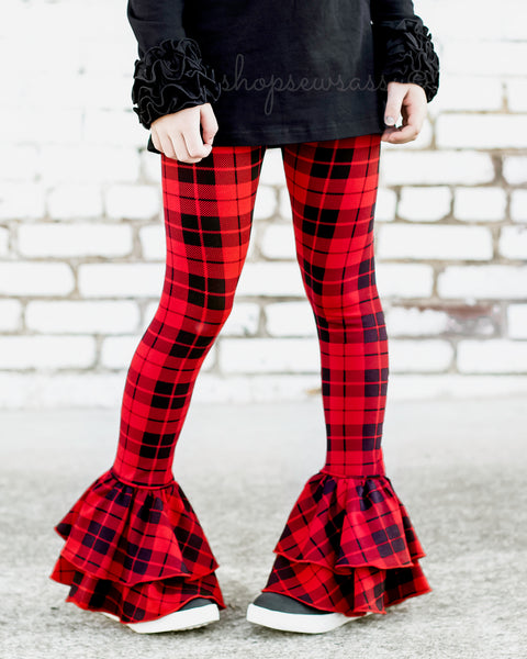 Buffalo Plaid Milly Leggings