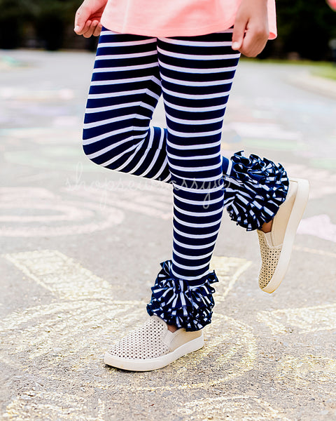 Navy + White Icings