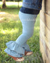 Dusty Blue Milly Leggings