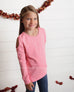 Sunset Pink Cold Shoulder Slouch