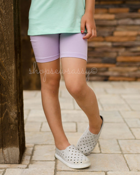 Lavender Simple Shorties