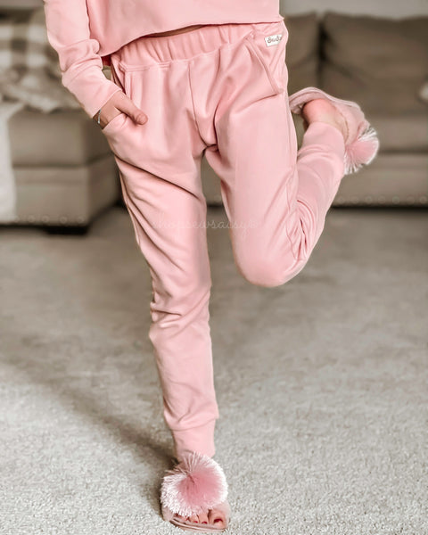 Vintage Pink Joggers