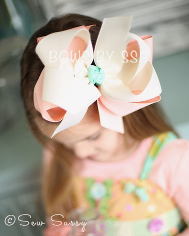 Peach Blossom *Limited Edition* Bow