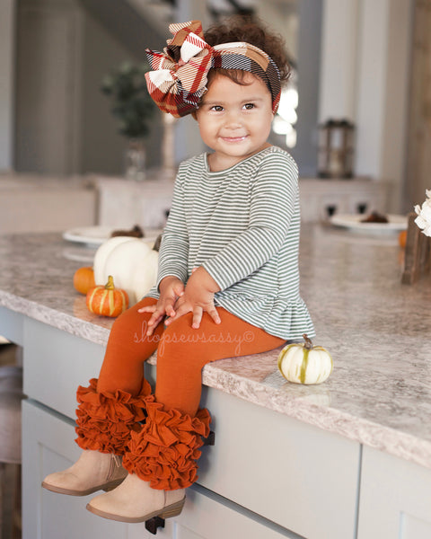 Pumpkin Sassy Denim Icings