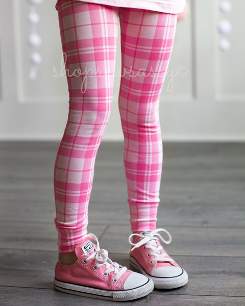 Pretty in Plaid True Leggings