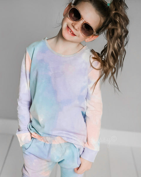 Totally Tie Dye Slit Slouch
