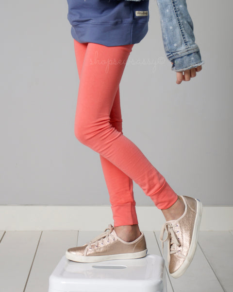 Coral True Leggings