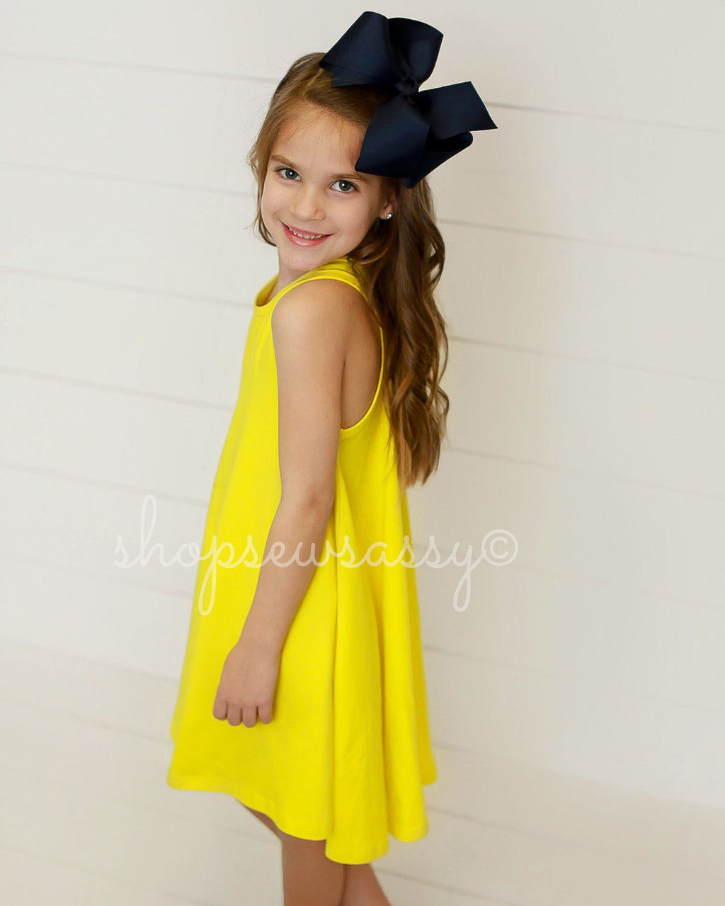 Sunshine Hi-Lo Racer Dress - IMPERFECT
