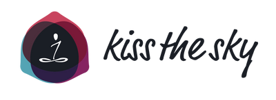 Kiss The Sky Yoga Logo