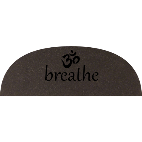 Om Breathe Oval Mat
