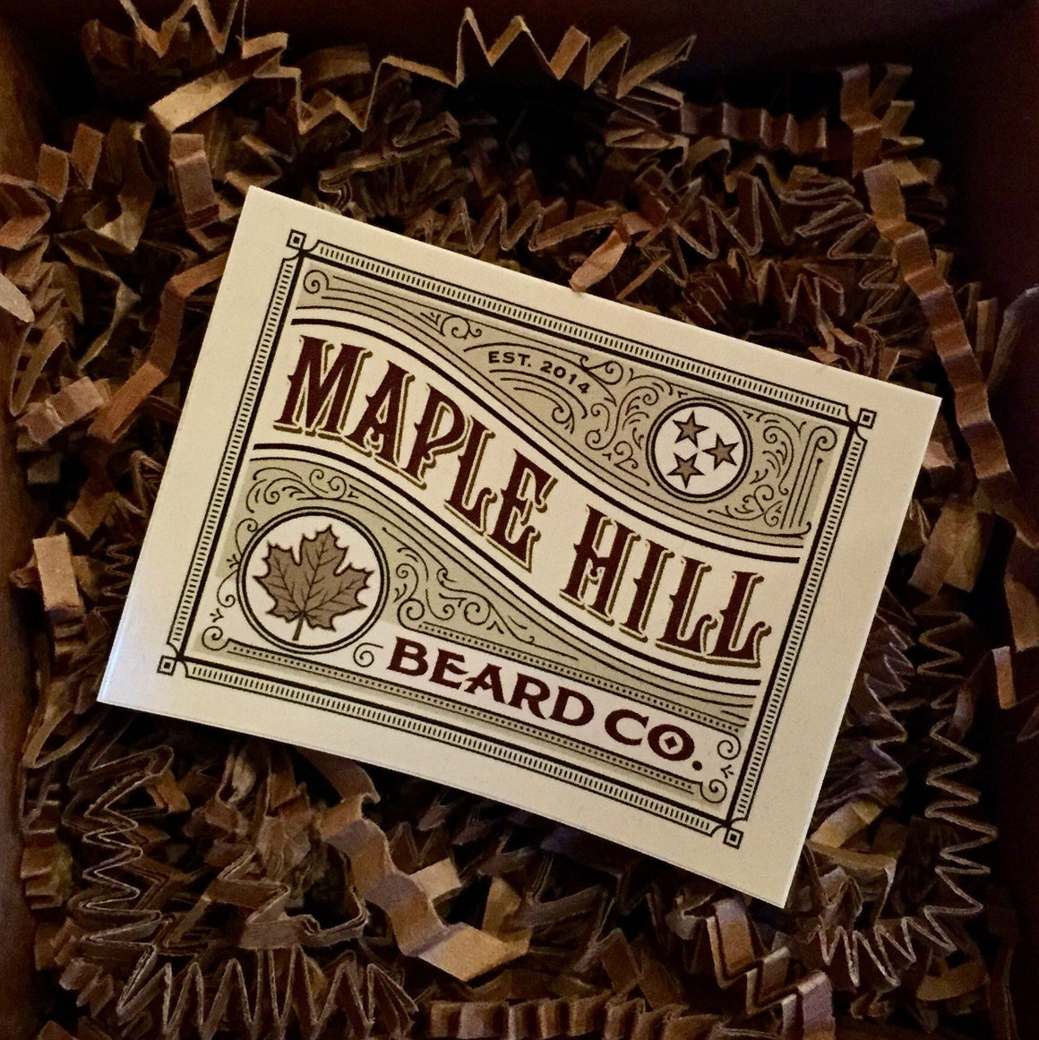 Accessories - Maple Hill Beard Co. Sticker