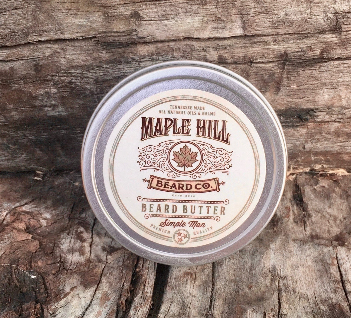 Beard Butter - Simle Man Beard Butter - 1 Fl Oz / 30 Ml
