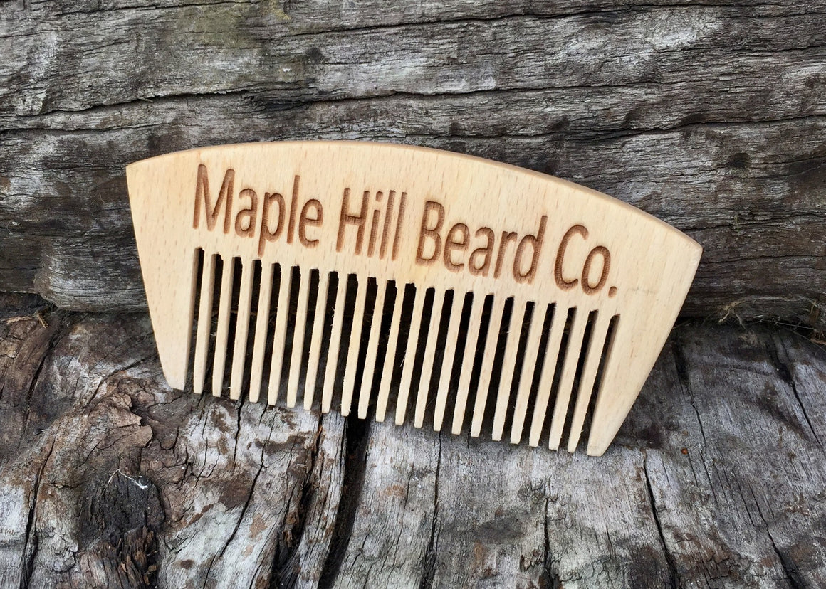 Beard Combs - Large Wooden Beard Comb