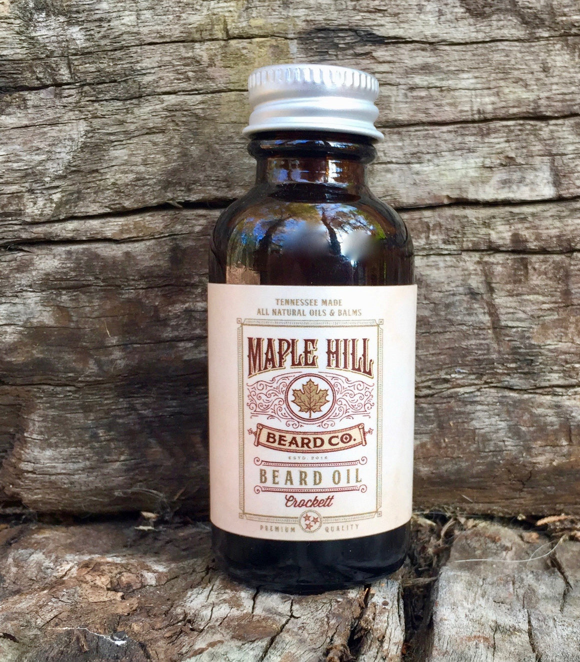 Beard Oil - Crockett Beard Oil - 1 Fl Oz / 30 Ml
