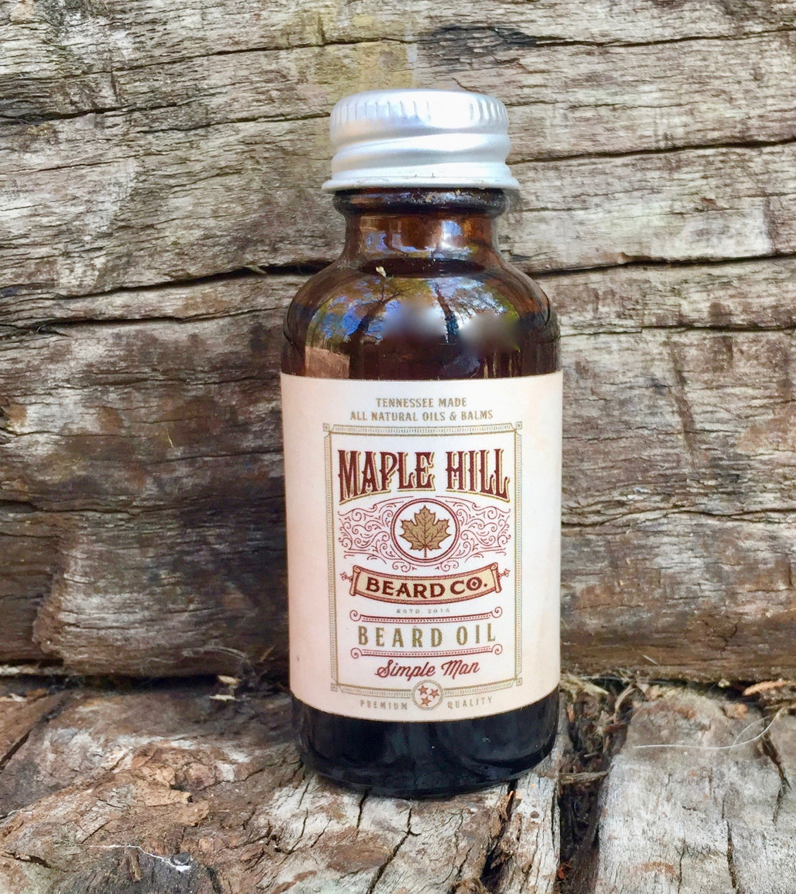 Beard Oil - Simple Man Beard Oil - 1 Fl Oz / 30 Ml