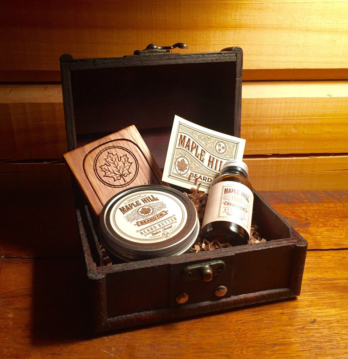 Gift Box - Small Wooden Gift Box