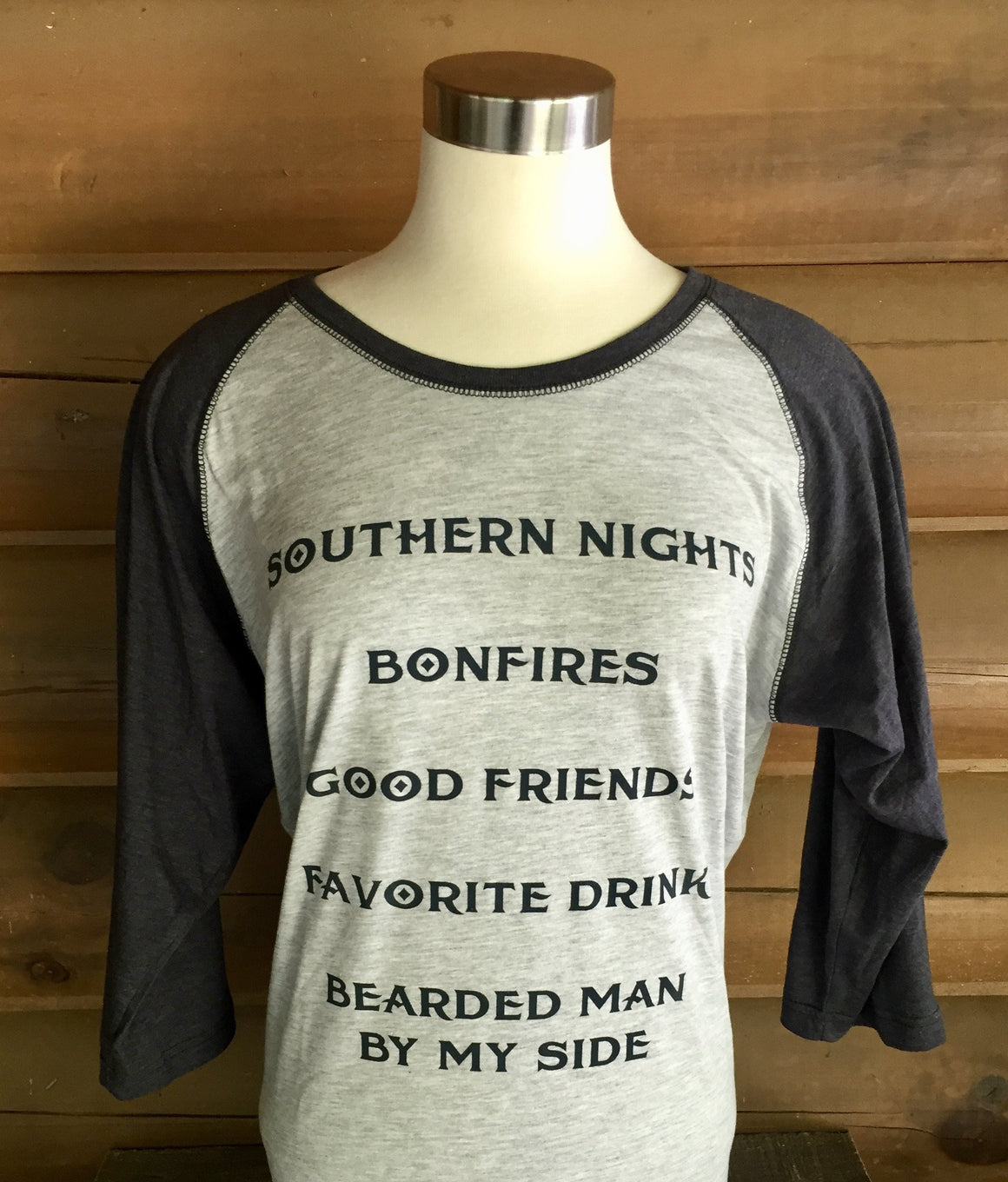 Shirt - Southern Nights Raglan Shirt