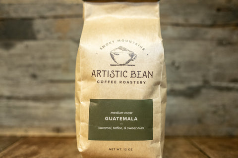 Guatemala Huehuetenango Medium Roast -  Organic, Fair Trade