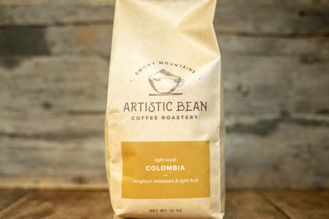 Colombia Excelso Light Roast -  Organic. Fair Trade