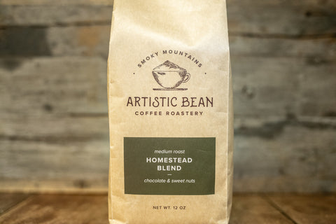 Homestead Blend Medium-Dark Roast - Organic, Fair Trade