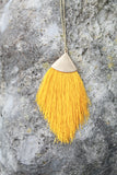 Pendant Tassel Necklace (available in several colors)