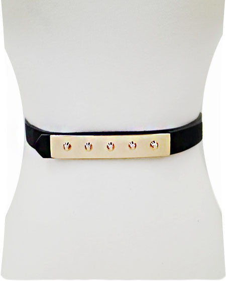 Gold Stud Plated Belt