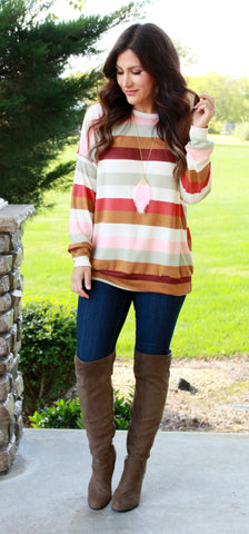 Brooklyn Stripe Top