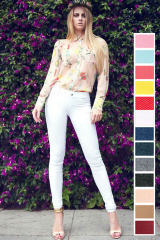 Full Length Jeggings (available in several colors)