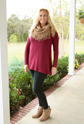 Solid Tunic (available in several colors!)