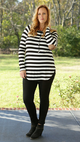 Timeless Treasures Stripe Top