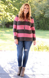 Side By Side Stripe Sweater (3 colors)