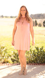 Pretty In Pink Tank Dress