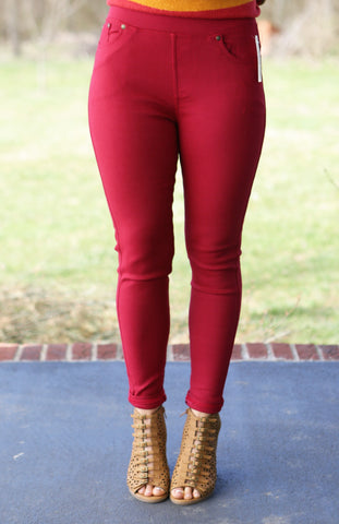 Twill Jeggings (available in several colors)