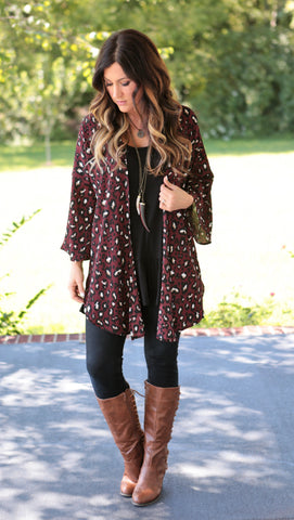 Leopard Cardigan (2 colors)