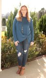 Side Knot Tunic (available in several colors)