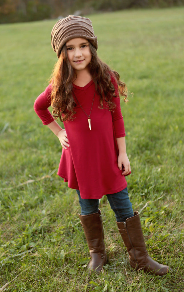 Kid's Ballet Tunic (available in several colors)