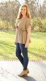 Latte Love Drawstring Top