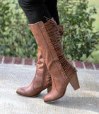 Leah Lace Up Boots