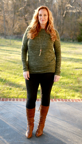 Brushed Heather Sweater (3 colors)