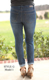 Distressed Skinny Jeans Style G