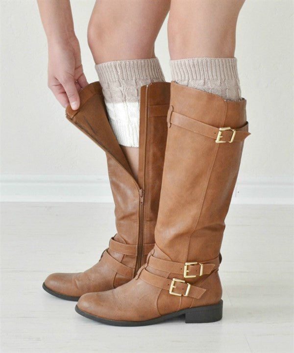 Double Sided Boot Cuffs