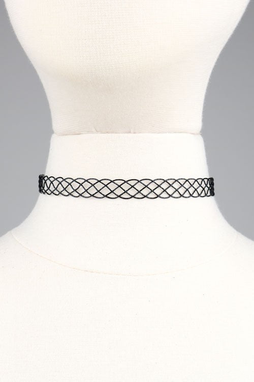 Braided Choker (available in 2 colors)