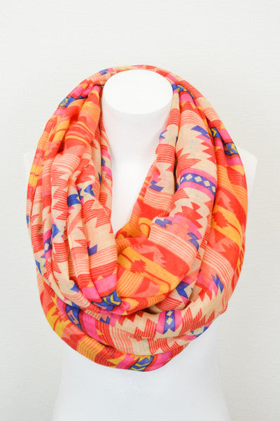 Neon Tribal Scarf