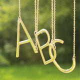 2 in 1 Initial Necklace