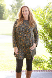Olive Leopard Tunic Dress