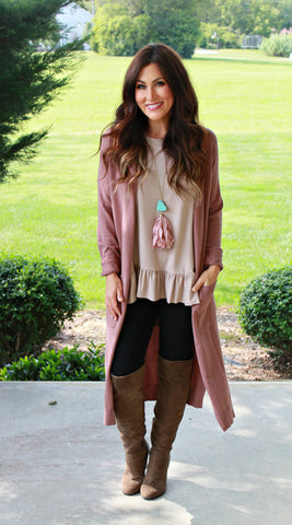Duster Cardigan (available in several colors)