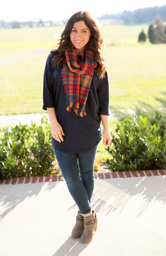 Navy Dreams Tunic